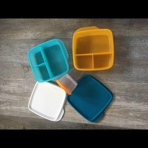 New tupperware kids set of three